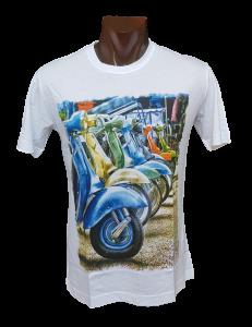 T-shirt estiva, Maglietta uomo manica corta girocollo 100% Cotone FERRUCCI EVANS