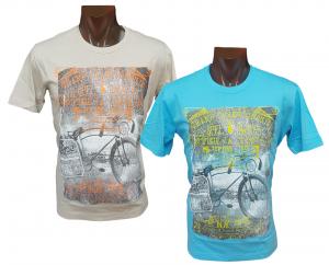 T-shirt estiva, Maglietta uomo manica corta girocollo 100% Cotone FERRUCCI EGADI