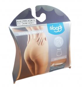 Slip Donna in microfibra INVISIBLE SUPREME MAXI SLOGGI Intimo Comfort invisibili