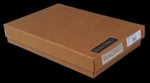 Pigiama Invernale Uomo. Caldo Cotone 100%. Lungo bordato. RAGNO CLASSIC, N25021.