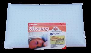 Guanciale Cuscino MEMORY Polywater in schiuma ecologica antiacaro. SANITARIO