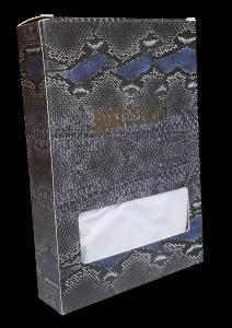 JUST CAVALLI. Slip uomo elastico esterno D0900. 95% Cotone - 5% Elastam