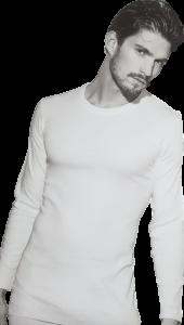 T-Shirt Maglietta Caldo Cotone Manica Lunga girocollo Uomo ET1204 ENRICO COVERI