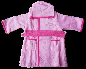 Accappatoio Baby Cinigliato Bambina bimba 100% Spugna di cotone DISNEY PRINCESS