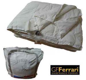 Piumino d' oca 4 Stagioni - Piume 90/10 GF. FERRARI GRAZ in Microfibra 300 gr/mq