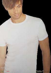 T-Shirt uomo 2 pezzi maglietta intima corta Caldo Cotone HENRY COTTON HC/2000