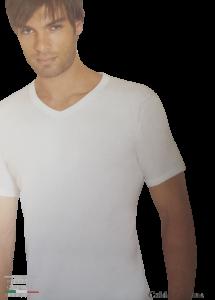T-Shirt uomo 2 pezzi maglietta intima corta Caldo Cotone HENRY COTTON HC/2001