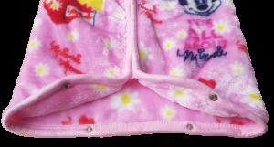 Baby Sac Sacco neonato Copertina in Pile con zip 95x85 cm. DISNEY MINNIE -XU0200