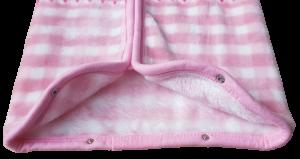 Baby Sac Sacco neonato Copertina in Pile con zip 95x85 cm. DISNEY MINNIE -KU0203