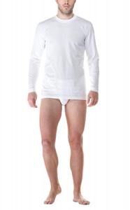 T-Shirt Maglietta intima 100% Cotone Manica Lunga girocollo Uomo FRAGI AMERICA