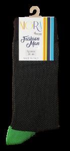 Calzini lunghi 3 paia, Uomo. 815 NIGRA Calza lunga in Filo di scozia Cotone Makò