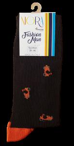 Calzini corti 3 paia, Uomo. 822 NIGRA Calza corta in Filo di scozia Cotone Makò