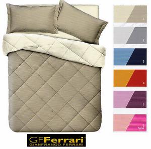 Trapunta Microfibra, Singolo, 1 piazza e mezza, Matrimoniale. GF. FERRARI, CLIO.
