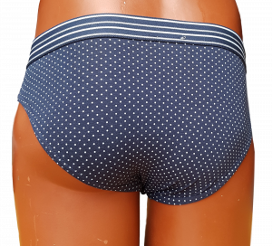 BUCCIADIMELA. 3x Slip uomo STRECH COTTON Underwear - S117. Grigio + Blu + Nero.
