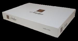 JOSEPHINE LUXIA. Completo letto, lenzuola in 100% Cotone. Matrimoniale, 2 piazze