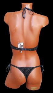 SOGNO ROSA. Body Donna PENELOPE con perizoma. Intimo Lingerie Sexy.