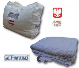 GF. FERRARI LINZ. Piumino d' oca 90/10 Inverno, Imbottitura Microfibra. 300 gr/mq