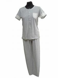 GABRIELLA FERRUCCI, BETULLA. ITALY. Pigiama donna Mezza manica + Pantalone lungo.