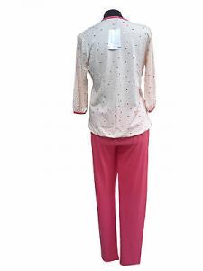 GABRIELLA FERRUCCI, BABILA. ITALY. Pigiama donna Mezza manica + Pantalone lungo.