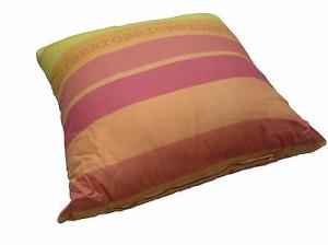 Cuscino arredo decorativo - 40x40 - Cotone. Colore Arancio Sfoderabile - Art. C2