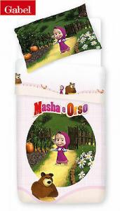 Disney GABEL MASHA E ORSO PORTHOLE, Trapunta, piumone invernale. Singolo 1 piazza