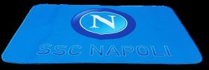 SSC NAPOLI CALCIO Tappeto antiscivolo con stampa - 80 x 120. Scendiletto GL752