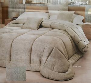 GF. FERRARI SIMONA. Quilt Trapuntino + 2 Fodere cuscino, 100 gr/m2. Matrimoniale