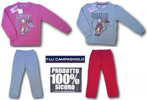 CAMPAGNOLO. 8Q13629. Tuta invernale per bambina, dynamic, Maglia + Pantalone.
