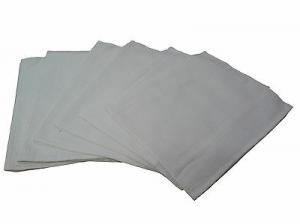 Set asciugamani Nido d' ape . 6 asciugamano viso 50 x 70. Colore Bianco.