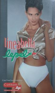 LEPEL, LINEABELLA 655. Mutandina, slip donna, fianco basso Cotone e Microfibra.