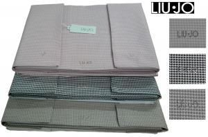 LIU JO HOME TOKYO. Completo lenzuola 100% Cotone stampato Matrimoniale, 2 piazze