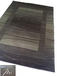 WISSENBACH - NLINEA Silber. Tappeto. 140x200 - 2,8mq. Silver, Grigio, Tortora.