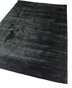 WISSENBACH - GLAMOUR CHARCOAL - Tappeto tessuto a mano. 170x241 - 4,09mq. Nero.