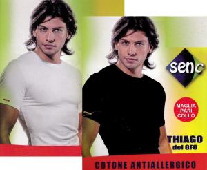 SENC Art 14. T-shirt, manica corta Uomo girocollo Cotone Antiallergico Bielastico