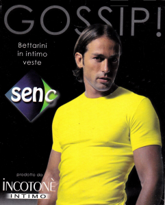 SENC Art 17 T-shirt, manica corta Uomo girocollo Cotone Antiallergico Bielastico