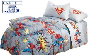 Trapunta invernale. Disney CALEFFI - SUPERMAN VINTAGE Singolo, 1 piazza e mezza