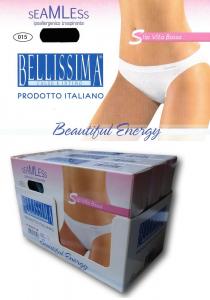 BELLISSIMA SV100. 3 Slip Donna vita bassa Microfibra elasticizzata senza cuciture
