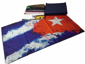 RIVIERA, CUBA. Completo Lenzuola, Copriletto. Singolo, 1 Piazza. Stampa Digitale