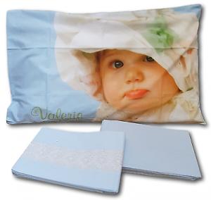 VALERIE 09 Baby White Bonnet. Completo Lenzuola in puro Cotone. Singolo, 1 piazza