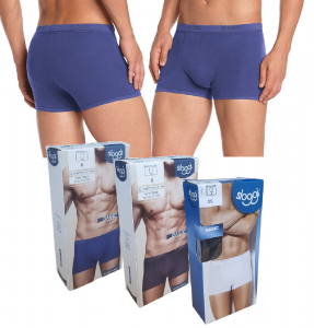 SLOGGI BASIC SHORT. Boxer Uomo elastico esterno Strech Cotton Intimo Comfort