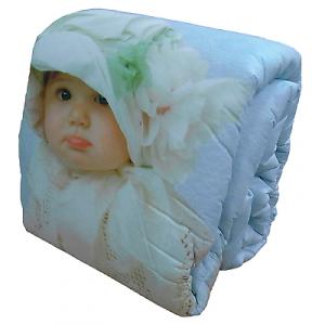 VALERIE Dis 09 Baby White Bonnet. Trapunta, piumone invernale. Singolo, 1 piazza.