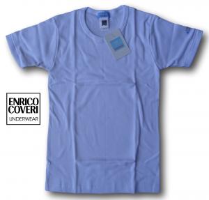 ENRICO COVERI. ECJ300 Caldo Cotone. 3x Maglietta intima bimbi. Manica corta