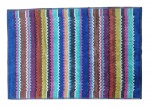 Tappeto VIVIAN MISSONI. Tappetino bagno 60 x 90 cm. in spugna cimata Scendibagno.