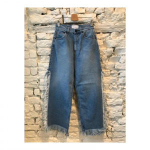 JEANS CON SPACCO LATERALE