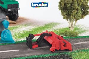 BRUDER 02583- Pulitore Stradale Compatibilità E