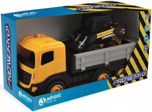 Camion 6 ruote più mini dozer in box singolo 1120 ADRIATIC