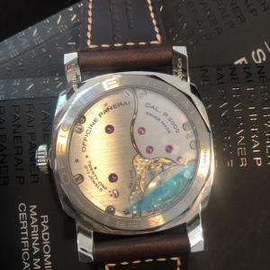 Orologio secondo polso Officine Panerai Radiomir Pam 00587 se1940 Marina Militare