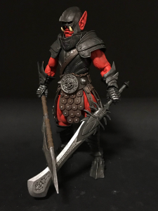 Mythic Legions - Soul Spiller: FURY CKAN ORC by Four Hourseman