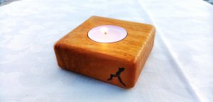 Portacandele- Candleholder cm. 8 x 8