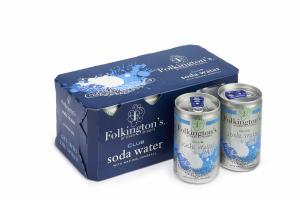 CLUB SODA WATER - Confezione da 24 lattine (3 box da 8 x150ml)